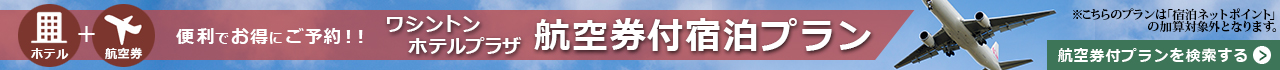 名古屋栄 航空券付宿泊プラン